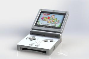 Game Boy Advance SP, j'en ai eu une pour passer le temps en train
